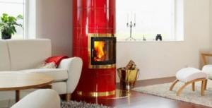 kakelugnar ger värme och är vackra möbler