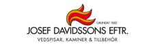 Josef Davidsson Eftr.,taljstenskaminer,gjutjarnskaminer,vedspisar,kamintillbehor
