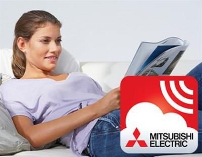 MELCloud är vår senaste WiFi-app för Mitsubishi Electric´s värmepumpar och luftkonditioneringar. MELCloud ger användaren en bekymmersfri kontroll av sin värme om man är borta från hemmet eller bara ligger i soffan och tar det lugnt. Att kontrollera din Mi