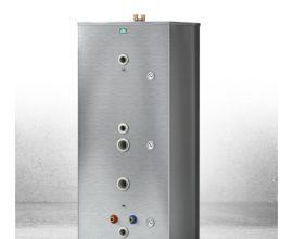 Bästa uppvärmningen för eldning med ved, är en kombination av CTC ackumulatortankar tillsammans med vedpannorna CTC V22, V35 eller V40 och en laddningsautomat