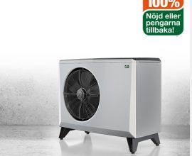 CTC EcoAir 400 Fastighet  Luft/vatten-värmepumpar för stora villor, hyres- och industrifastigheter