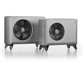 CTC Luft-vattenvärmepump med låg ljudnivå och hög verkningsgrad