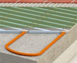 XY Climatepatenterad golvärme med låg bygghöjd och bra värmespridning