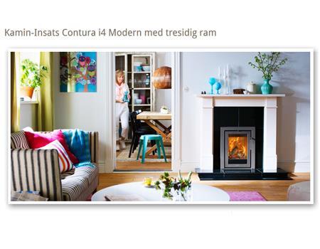 Contura - Modern i4 Modern med tresidig ram
