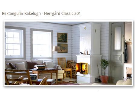 Contura - Herrgård Classic 201