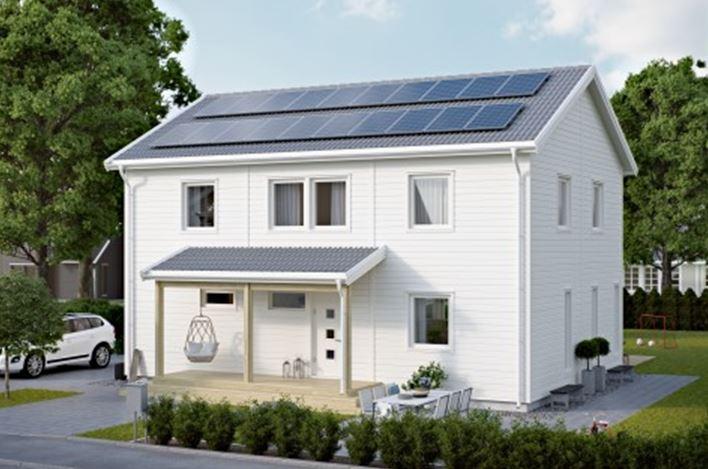 Effektiva solpaneler från Nibe